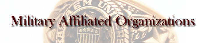 MilitaryAffiliatedOrganizations