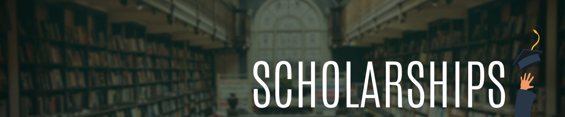 Scholarships Page Header