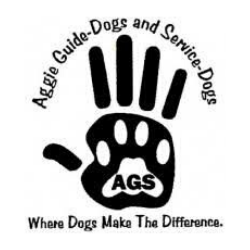Aggie Guide-Dogs & Service-Dogs Logo